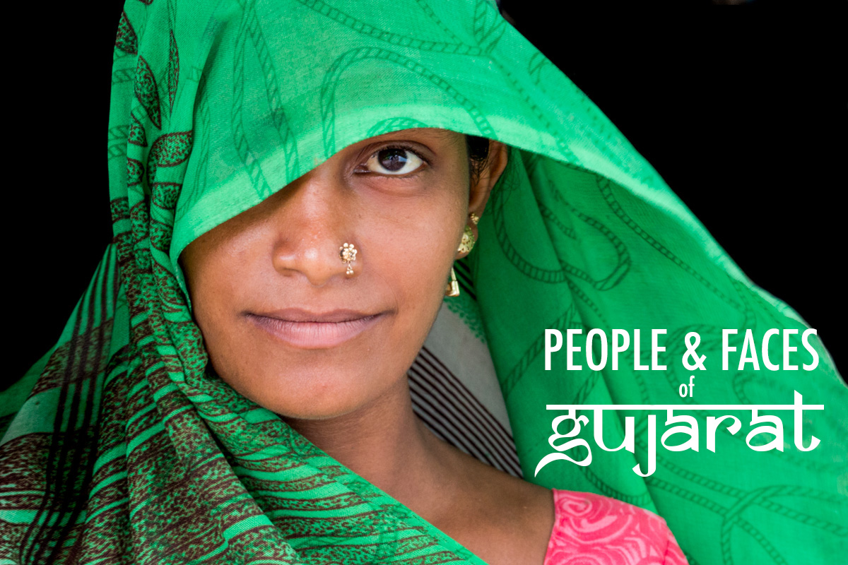 People and Faces of Gujarat, India