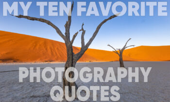 My Ten Favorite Photography Quotes