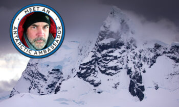 Richard Bernabe Named Antarctic Ambassador